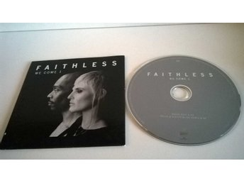 Faithless - We come 1, single CD