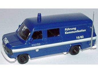 Busch 42407 - Ford Transit H0-skala - Ord.pris 110:- - Munka-ljungby - Busch 42407 - Ford Transit H0-skala - Ord.pris 110:- - Munka-ljungby