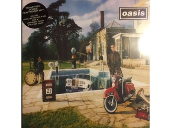 OASIS - BE HERE NOW 2-LP REMASTERED GATEFOLD + DOWNLOAD CODE
