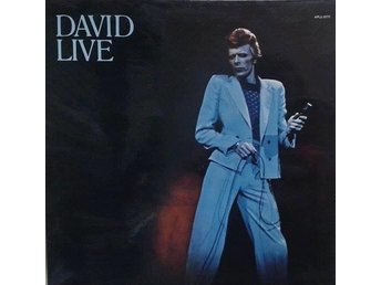David Bowie titel*David Live* Rock,Glam UK LP x 2 - Hägersten - David Bowie titel*David Live* Rock,Glam UK LP x 2 - Hägersten