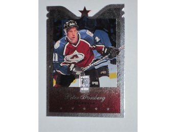 1995-96 Peter Forsberg Donruss Elite Die Cut #39