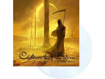 Children Of Bodom -I worship chaos LP clear vinyl ltd 500 co - Motala - Children Of Bodom -I worship chaos LP clear vinyl ltd 500 co - Motala