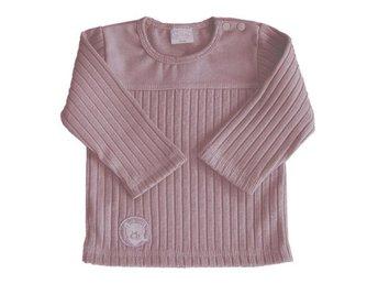 """*REA* Nougatbrun ribbstickad tröja """"Nalle"""" från ONO stl 86/92 - Trelleborg - *REA* Nougatbrun ribbstickad tröja """"Nalle"""" från ONO stl 86/92 - Trelleborg"""