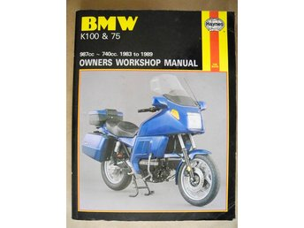 Haynes 1373 BMW K100 & 75 987cc -740cc. 1983 to 1989
