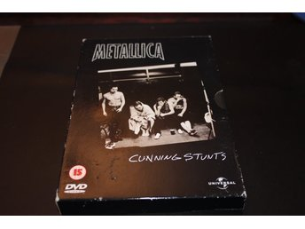 DVD-box: Metallica - Cunning stunts
