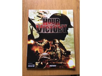 Hour of Victory spelguide till XBOX 360. Bradygames. Midway. Fint skick!