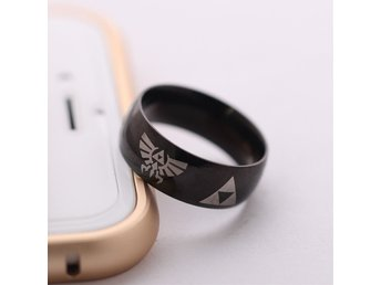 Nintendo Zelda link between worlds cosplay triforce Ring