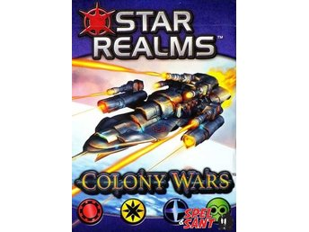 Star Realms Colony Wars Deckbuilding Game