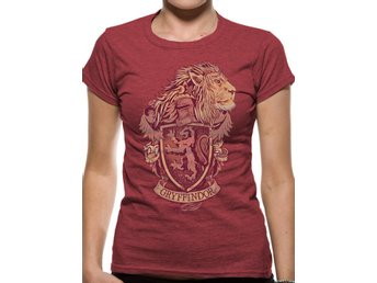 T-Shirt HARRY POTTER - GRYFFINDOR (UNISEX) - S