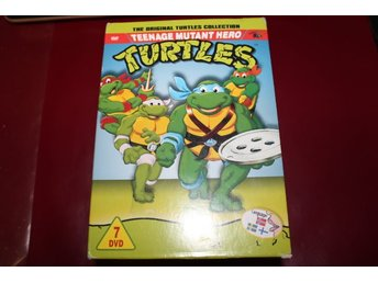 DVD-box: The original Turtles collection - Bra begagnat skick (Svenskt tal)