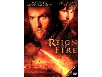 Reign of Fire 02 Rob Bowman med Matthew McConaughey,Christian Bale KANON DVD OOP
