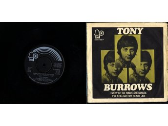 TONY BURROWS - EVERY LITTLE MOVE SHE MAKES