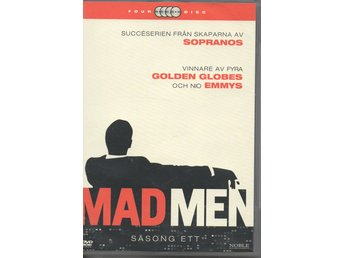 Mad Men: Säsong 1. 4 DVD.