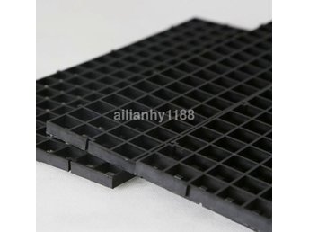 Gratis frakttank Aquarium Grid Divider Isolate Filter Bottom Plastic Lot