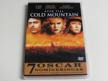 ÅTER TILL COLD MOUNTAIN (DVD) Jude Law