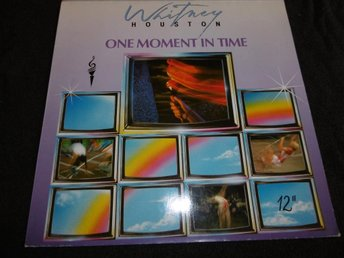 "Whitney Houston - One moment in time - 12"" - 1988"