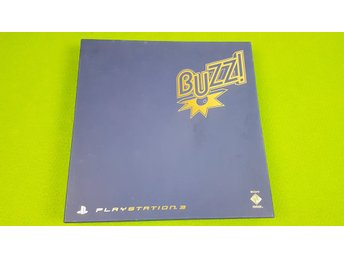 Buzz kontroller med spelet Buzz TV Quiz KOMPLETT I BOX SVENSK Playstation 3 PS3