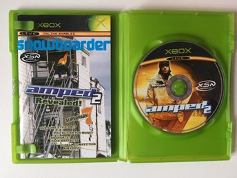 XBOX - Amped 2 - Snowboard - Tv-Spel
