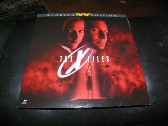 The X-files - AC-3- Special Widescreen edition  2st  Laserdisc