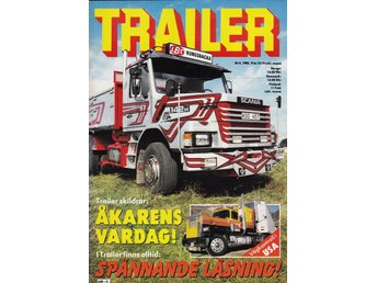 Trailer 1982-5 Kungsbacka LBC.Scania 142 H.Volvo F 12