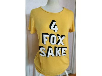 4 FOX SAKE gul top, stl L
