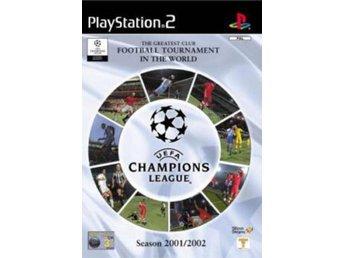 UEFA Champions League 2001/2002 - Playstation 2 - Varberg - UEFA Champions League 2001/2002 - Playstation 2 - Varberg