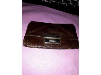 Gammal plånbok börs skinn - överhörnäs - Gammal plånbok börs skinn - överhörnäs