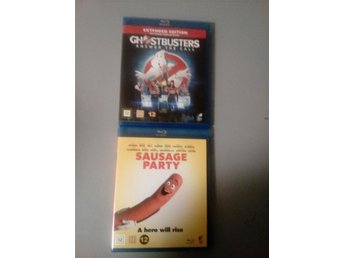 Ghostbusters & sausage party bluray
