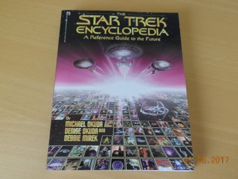 STAR TREK ENCYCLOPEDIA by Michael & Denise Okuda, stor bok USA 1994