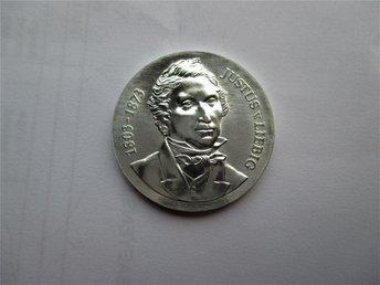 DDR 10 mark, 1978 Justus von Liebig KM#69 - Geraardsbergen - DDR 10 mark, 1978 Justus von Liebig KM#69 - Geraardsbergen