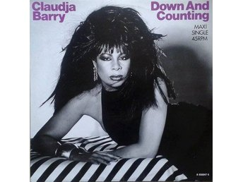 "Claudja Barry title*  Down And Counting* House, Disco 12""-maxi EU"