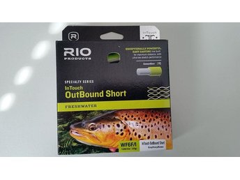 Helt ny !  Rio Freshwater Intouch Outbound Short WF6 Float/Intermediate