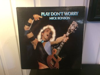 Mick Ronson – Play Don't Worry  APL1 0681  UK