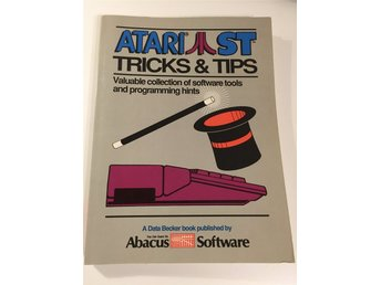 Bok Atari ST Tricks & Tips - Abacus Software Data Becker - 252 sidor