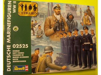 WWII GERMAN NAVY FIGURES       Revell  1/72 Byggsats