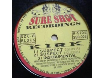 "Kirk titles *Everyday / Suspect* 90's Hip-Hop 12"" US"