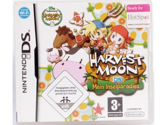 Harvest Moon: Island of Happiness -