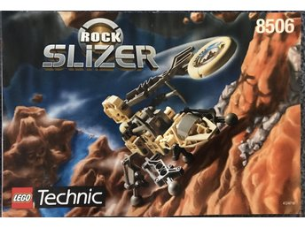 LEGO Technic Slizer 8506 (Rock) - Manual