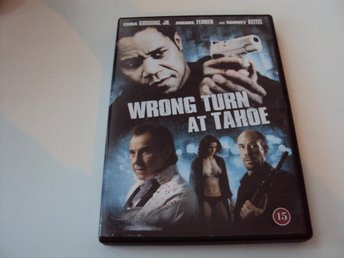 WRONG TURN AT TAHOE - CUBA GOODING JR. - HARVEY KEITEL (250)