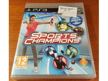 Sports Champions - Ny & Inplastad! - Komplett - PS3 / Playstation 3