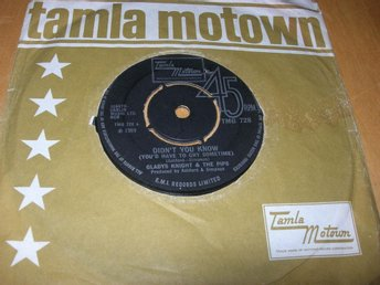 GLADY´S KNIGHT AND THE PIPS- Didn´t You Know UK -79 TAMLA