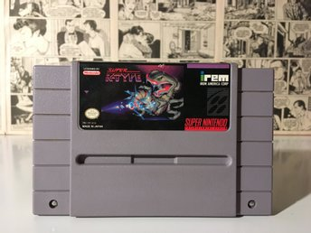 Super R-Type (NTSC-USA Super Nintendo SNES)