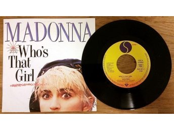 "MADONNA Who's That Girl 7"" singel"