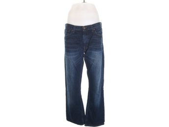 Levi Strauss & Co, Jeans, Strl: W34 L32, SLIM STRAIGHT, Blå