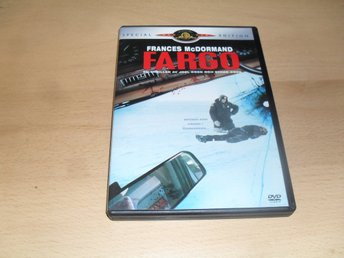 DVD-film: Fargo (Frances McDormand, William H. Macy)