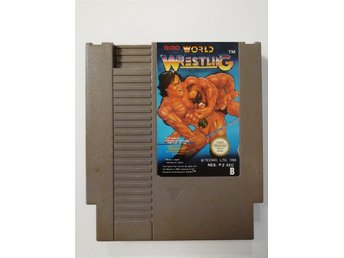 Tecmo World Wrestling NES Nintendo PAL