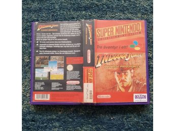 Indiana Jones Greatest Adventure - Hyrbox - Super Nintendo Yapon SNES