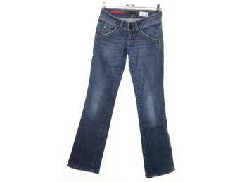 Guess Jeans, Jeans, Strl: 25, Stretch, Blå
