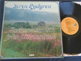 SÖREN RYDGREN - Spelmansmusik från Hälsingland, LP 78 Egil Johansen Horgalåten - Gävle - SÖREN RYDGREN - Spelmansmusik från Hälsingland, LP '78 Egil Johansen Horgalåten - Gävle