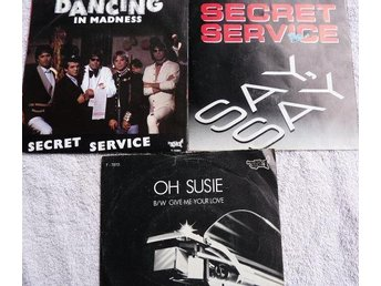 Secret Service - paket med 3 vs